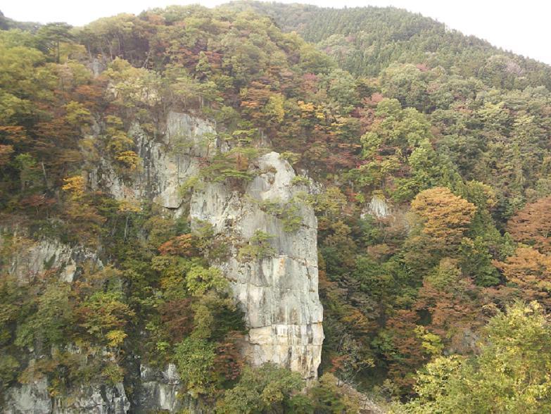 名勝『楯岩』