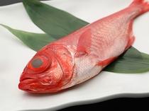 一品料理「金目鯛の煮付け」