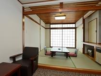 禁煙和室6眺望なし*窓の外は隣の建物の壁となります*