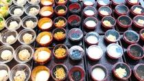 ◆豊富な種類の小鉢バイキング