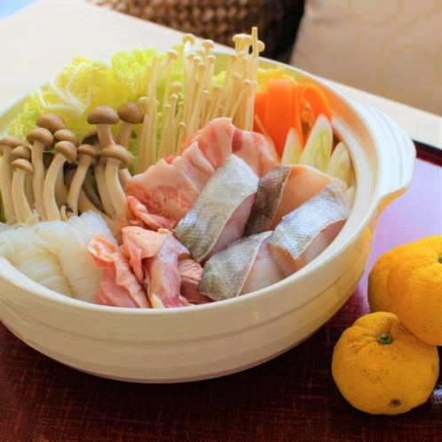 峰山特製柚子味噌鍋