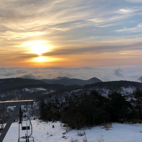 スキー場 朝日