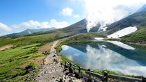 姿見の池にうつる旭岳