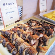 【朝食ブッフェ】和食一例