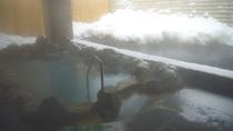 心も身体も温まる雪見風呂は冬の醍醐味♪
