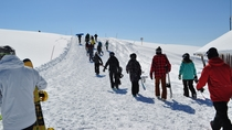 世界のスキーヤーを魅了する旭岳