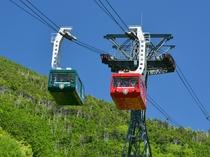 [北八ヶ岳ロープウェイ] 100人乗りロープウェイで行くアルプスの絶景と坪庭の散策観光