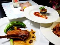 イタリアンコース「Consiglie -コンスィリエ-」メイン肉料理(骨付き仔羊)