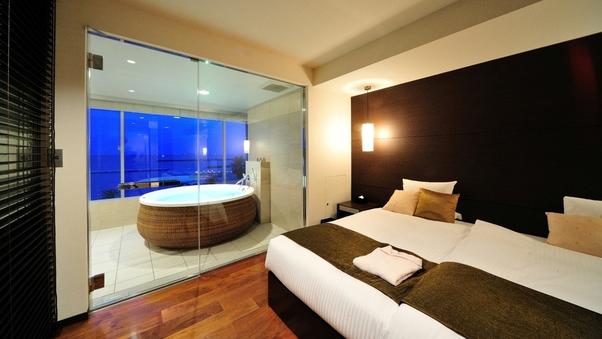 【ミクラス・スイート】1室限定◆海を眺めるお風呂付/禁煙室♪
