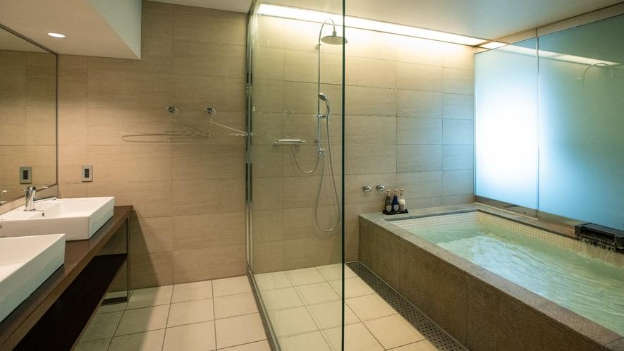 大型温泉浴槽付き/広々73平米/眺望なし/2~7名まで