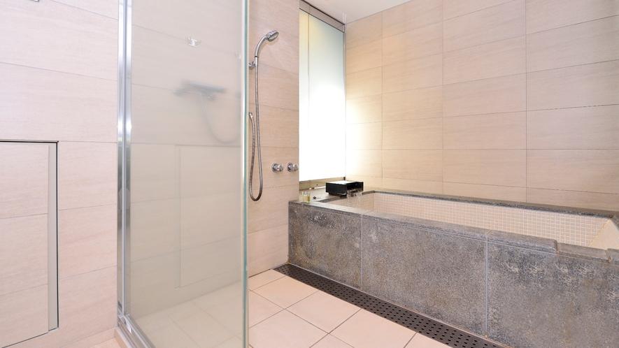 温泉浴槽付き客室/眺望なし