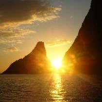海からの朝日に感動★★朝日を見ながら想いを祈る