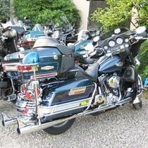 バイクでお超しのお客様も大歓迎で~す。