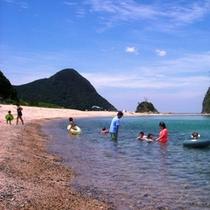 丹後の海でおもいっきり海水浴を楽しもう(^^♪