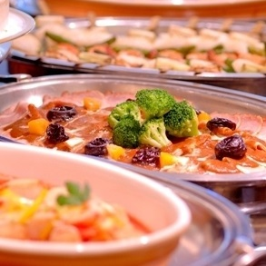 【バイキング(1)】バイキング朝食は和食派も洋食派も、たくさん派もちょっと派も大満足♪