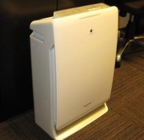 【空気清浄機】全室に加湿空気清浄機を完備しております。
