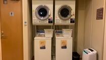 ■1階浴場『旅人の湯』脱衣所内に洗濯機・乾燥機完備■