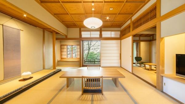 離館【内風呂*天然温泉】和室10畳+次室