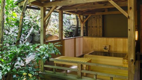 離館【天然温泉*露天風呂付き】和室10畳+次室
