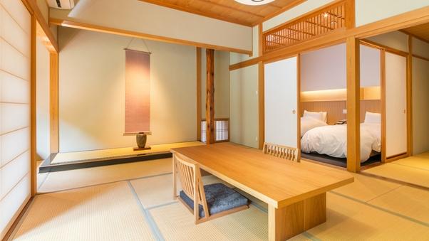 離館【ボディーシャワー付】和室+次室 <ベッド>