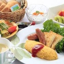 朝食洋食一例