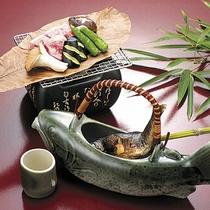 【別注料理も承っております】岩魚の骨酒(要予約)