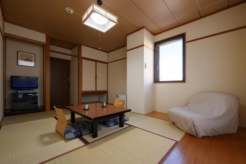 ■喫煙■和室6畳(バス・トイレ無/Wi-Fi/LAN接続)