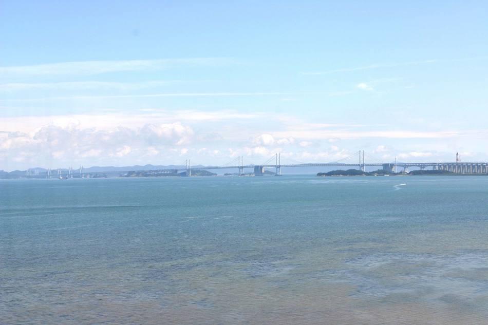 ツイン側(瀬戸大橋)の景色