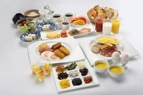 朝食バイキング メニュー例