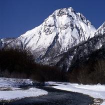 ◆梓川と焼岳