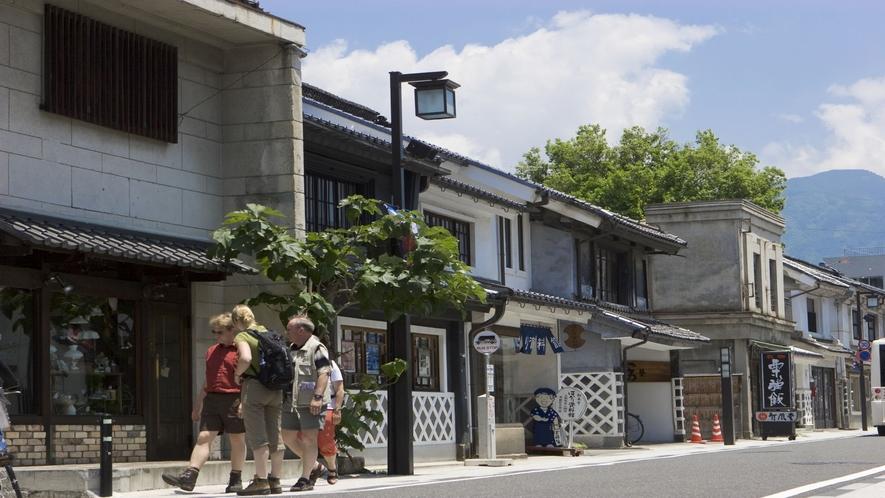■松本まち歩き(蔵の街並み)(写真提供:長野県観光機構)