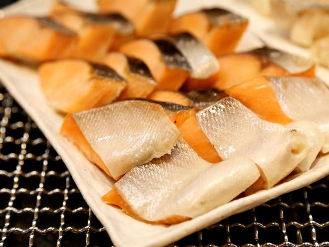【朝食】焼魚 鮭