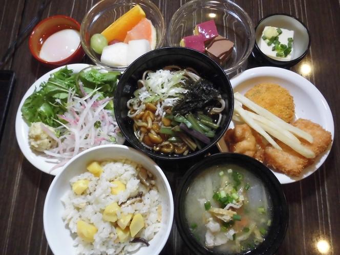 【朝食】お客様の好みに合わせてお食事をお楽しみください♪