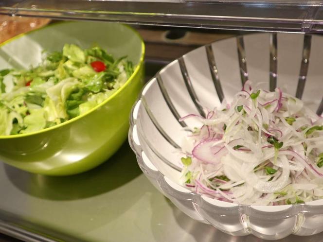 【朝食】サラダ各種
