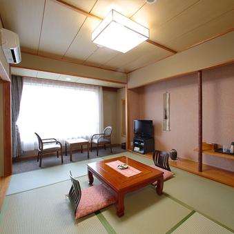 【パノラマビュー】和室(6畳+広縁2畳)