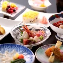 夕食:源氏物語コース※イメージ