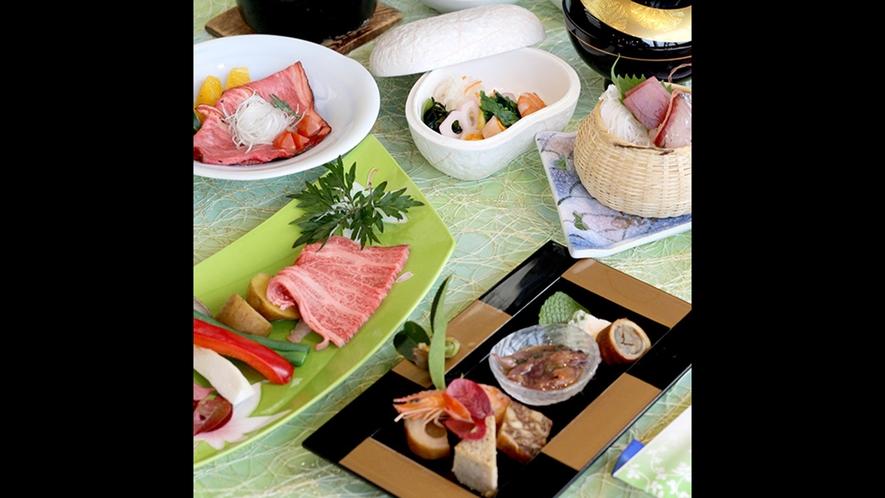 夕食:枕草子コース