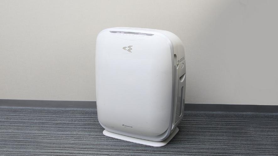 【客室備品】加湿機能付き空気清浄機