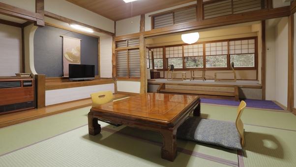 【禁煙】本館川側和室6畳間(洗浄トイレ付)「レストラン食」