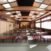 【日帰り入浴施設】宝川山荘内「広間」