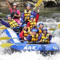 【ラフティング】利根川の激流でラフティング体験!