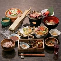 【ご夕食】「山里料理」夏の一例