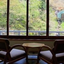 本館のお部屋からの景色(夏)