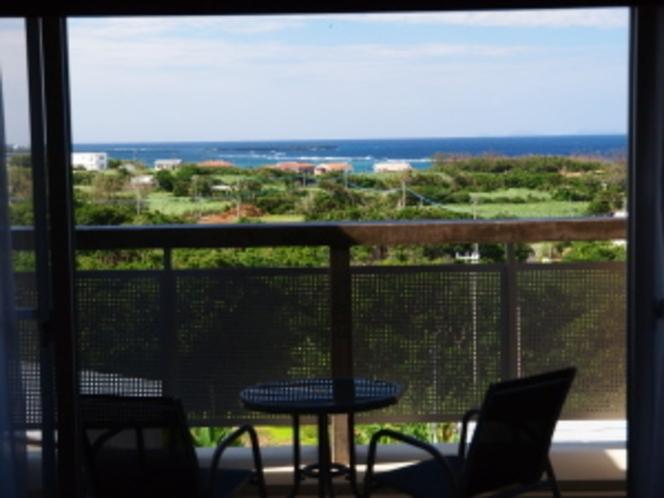 ホテル客室からの眺め