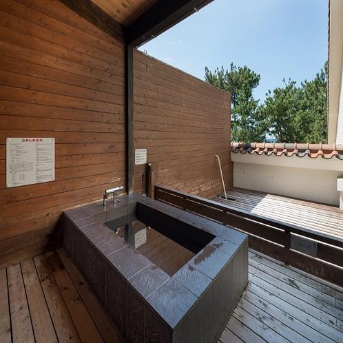 客室露天風呂(うずしお温泉)