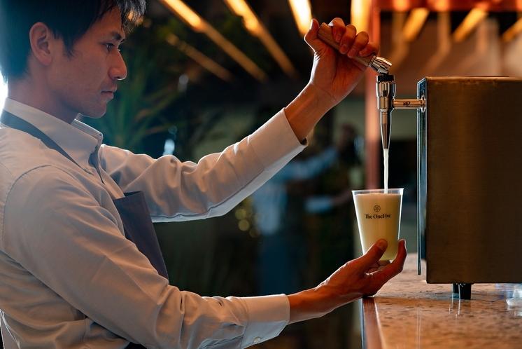 日本茶スタンド(スムースクレマティー)