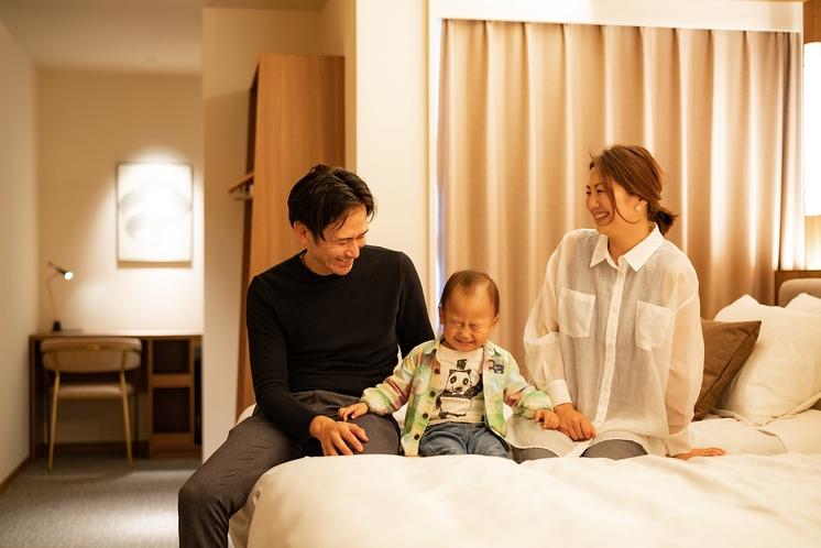 【客室】館内イメージ(子連れ・家族旅行)