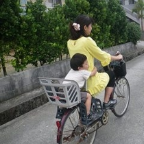 【ミキハウス子育て総研(株)認定】   ★ウェルカムベビーのお宿 サイクリング