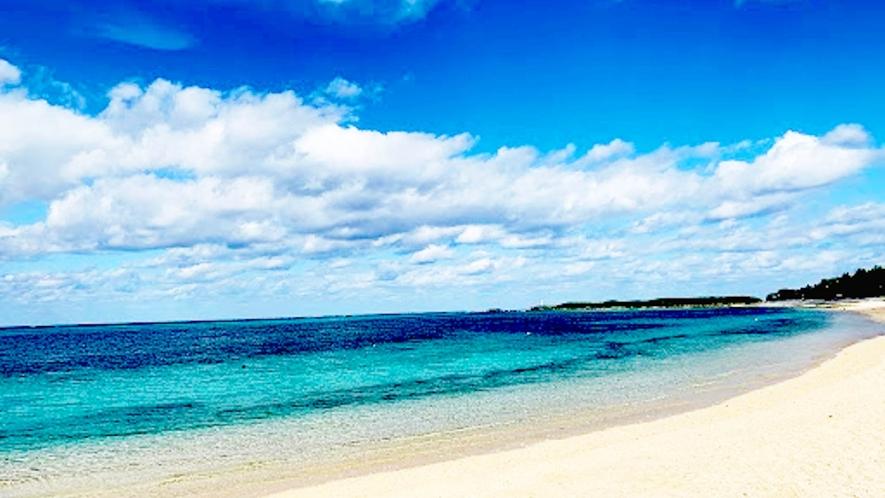 ・【本館】フクギテラスより徒歩30秒にあるビーチ