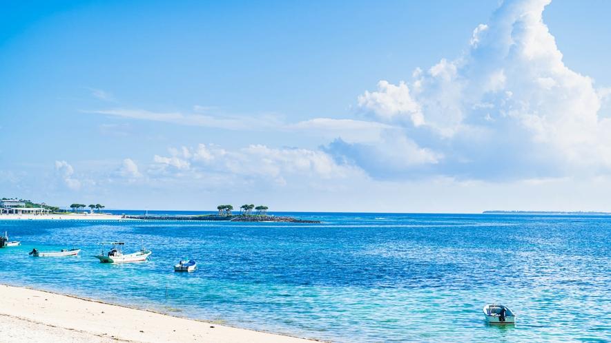 ・備瀬の空と海は特別大きく感じます